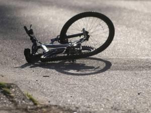 Biciclist accidentat, prea beat pentru a putea sufla în etilotest. Foto: sibiu100.ro