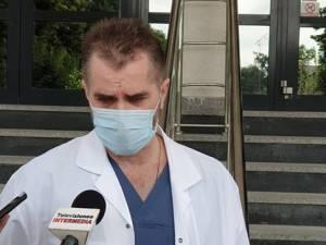 Directorul medical al spitalului, dr. Valeriu Gavrilovici