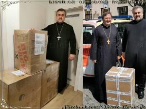 La Spitalul Județean de Urgență Suceava au ajuns echipamente sanitare în valoare de peste 6.000 de euro, la inițiativa unui preot din Germania, Vasile Florin Reuț