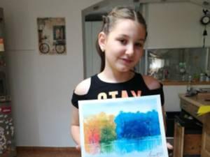 Sonia Grunichevici expune 30 de tablouri de pictură și grafică, la Muzeul de Științe ale Naturii Suceava