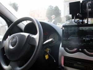 73 de permise reținute pentru exces de viteză, într-o acțiune cu radare în cascadă