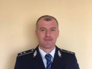 Comisarul-șef Marius Ciotău, președintele Corpului Național al Polițiștilor (CNP), organizația Suceava