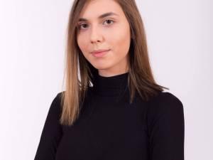 """Alexandra Meșinschi de la Colegiul Național """"Petru Rareș"""" Suceava"""