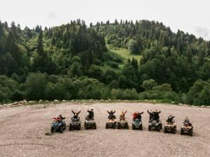 Cu ATV-urile pe Rarău