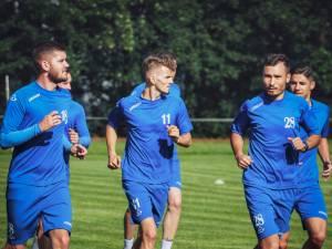 Fotbalistii Bucovinei au reluat antrenamentele. Foto Cristian Plosceac