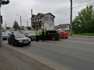Accident pe Calea Unirii
