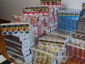 Țigări de contrabandă de aproape 40.000 de euro reținute în weekend