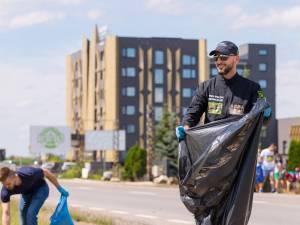 Provocarea lui Mandachi de a se face curățenie pe marginea drumurilor, acceptată la Rădăuți