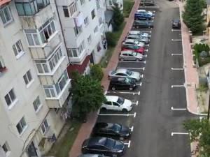 Alte patru parcări de reședință au fost reabilitate în cartierul sucevean Obcini