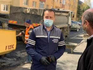 """Lucian Harșovschi: """"În cei patru ani s-au reabilitat și modernizat 3081 de locuri de parcare, chiar de au fost puse și piedici"""""""