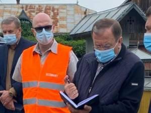 Gheorghe Flutur a solicitat urgentarea lucrărilor la drumurile din axa rutieră Suceava - Iaşi