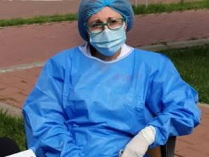 Medicul-șef al secției Boli Infecțioase, dr. Monica Terteliu