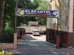 """""""Elefantul"""" îți spală mașina cât îți rezolvi treburile din centrul Sucevei"""