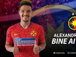Transferul lui Alex Buziuc a fost anunțat pe pagina oficială a celor de la FCSB