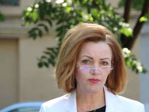 Candidatul PSD pentru funcția de președinte al Consiliului Județean Suceava, Mirela Adomnicăi