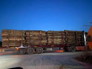 Camionul oprit luni noapte, în urma sesizării activistului Bodnar