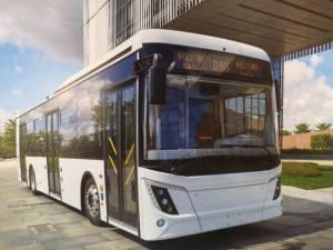 25 de autobuze electrice de acest tip vor veni la Suceava pînă pe 25 septembrie