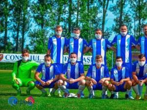 Siretul Dolhasca pastreaza sanse de promovare in Liga a III-a. Foto Stefan Pilat