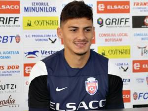 Florin Plămadă se află în fața unei noi experiențe la FC Botoșani