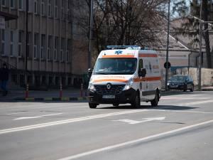 Bătrânul a fost preluat și transportat la Unitatea de Primiri Urgențe Suceava