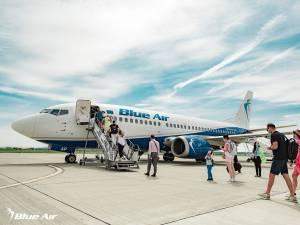Blue Air va începe mai repede operarea zborurilor de pe Aeroportul Suceava