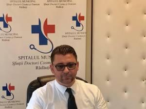 Traian Andronachi, managerul Spitalului Municipal Rădăuți