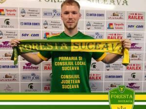 Cosmin Rotaru este noul fotbalist al Forestei