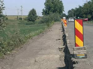 Flutur se declară mulțumit de cum se lucrează la modernizarea drumului Suceava - Dolhasca