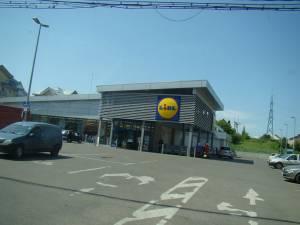 Personalul de la magazinul Lidl a sesizat poliția. Foto: panoramio