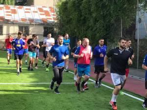 Handbaliștii de la CSU Suceava se pregătesc pentru turneul de promovare