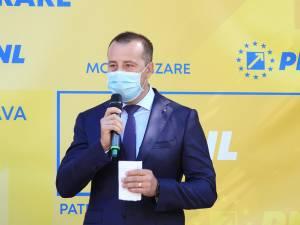 Prim-vicepreședintele PNL Suceava, Lucian Harșovschi