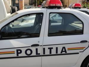 Echipajul de poliție din cadrul Secției de Poliție Rurală Vatra Dornei s-a deplasat la locul tamponării. Foto: enational.ro