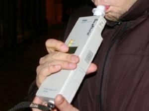 Aparatul etilotest a indicat o concentrație de alcool foarte mare