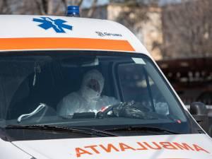 Bărbatul a fost trimis acasă cu o ambulanță