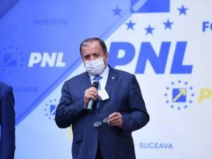 Președintele PNL Suceava și al Consiliului Județean, Gheorghe Flutur, care candidează pentru un nou mandat