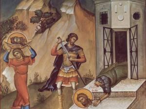 Tăierea capului Sfântului Proroc Ioan Botezătorul