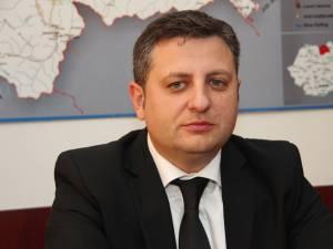 Octavian Ilisoi, președintele ALDE și candidatul acestui partid pentru funcția de președinte al Consiliului Județean Suceava