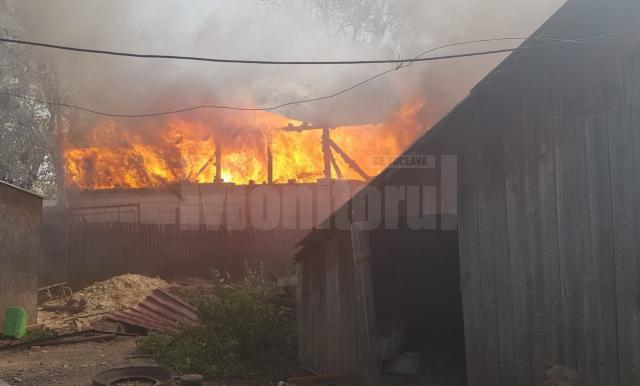 A provocat un incendiu devastator după ce a igienizat poiata păsărilor cu flacără