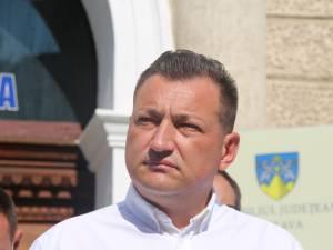 Candidatul PMP pentru funcția de președinte al Consiliului Județean, Bogdan Codreanu