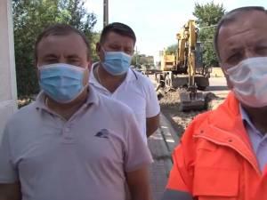 Gheorghe Flutur şi primarul orașului Liteni, Tomiţă Onisii