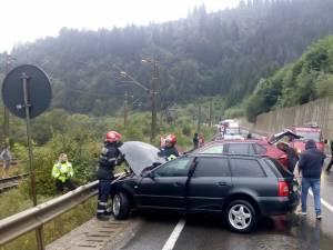 O femeie a murit iar o tânără este rănită grav în urma accidentului