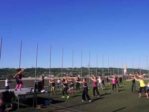 O nouă sesiune de zumba și streetdance, la Iulius Mall Suceava