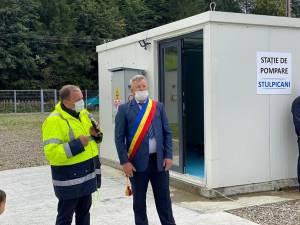 Gheorghe Flutur şi primarul din Stulpicani, Vasile Zamcu