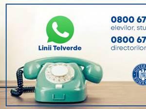 Accesul la informații pentru părinți, elevi și studenți, facilitat de o linie Telverde