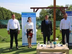 Eugen Tomac a participat la lansarea oficială a candidaților PMP pentru alegerile locale din județul Suceava