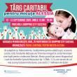 Târg caritabil pentru micuța Alessia, în parcarea Shopping City Suceava