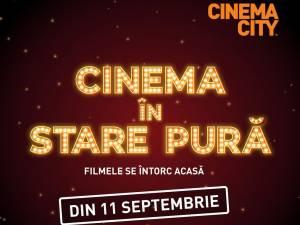"""Filmele se întorc """"acasă"""", la Cinema City din Iulius Mall Suceava"""