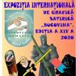 Expoziția Internațională de Grafică Satirică BUCOVINA, deschisă în Foaierul Muzeului de Istorie