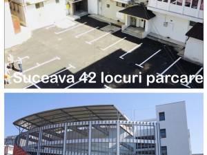 Social-democraţii arată cum la Suceava s-au inaugurat 42 de locuri de parcare în timp ce la Galaţi s-a construit o parcare supraterană cu 214  locuri