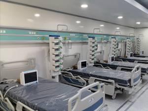 Noua unitate de terapie intensivă de la Spitalul Județean are deja 12 paturi funcționale